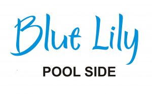 Blue Lily Pool Side Logo
