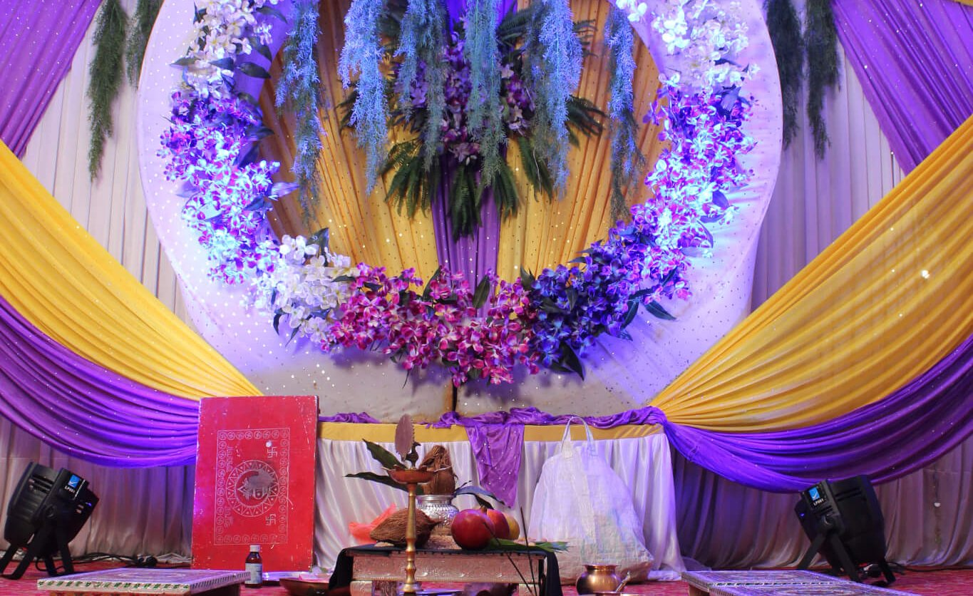 Stage Decoration for Wedding, engagement