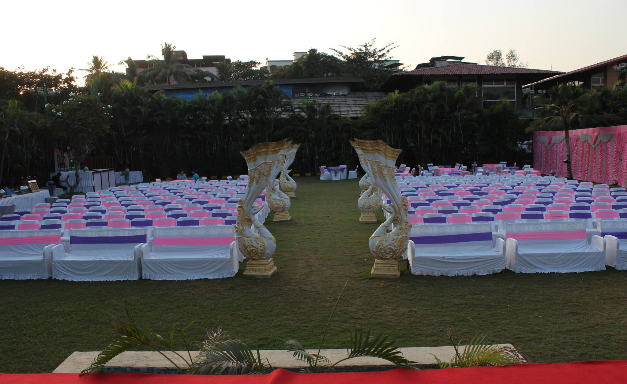 Exotica Lawn view from stage