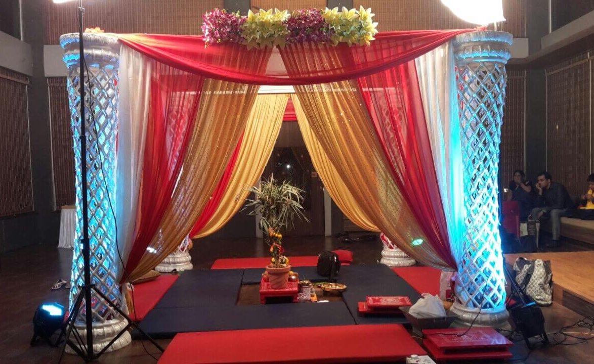 Vidhi Mandap decoration pattern