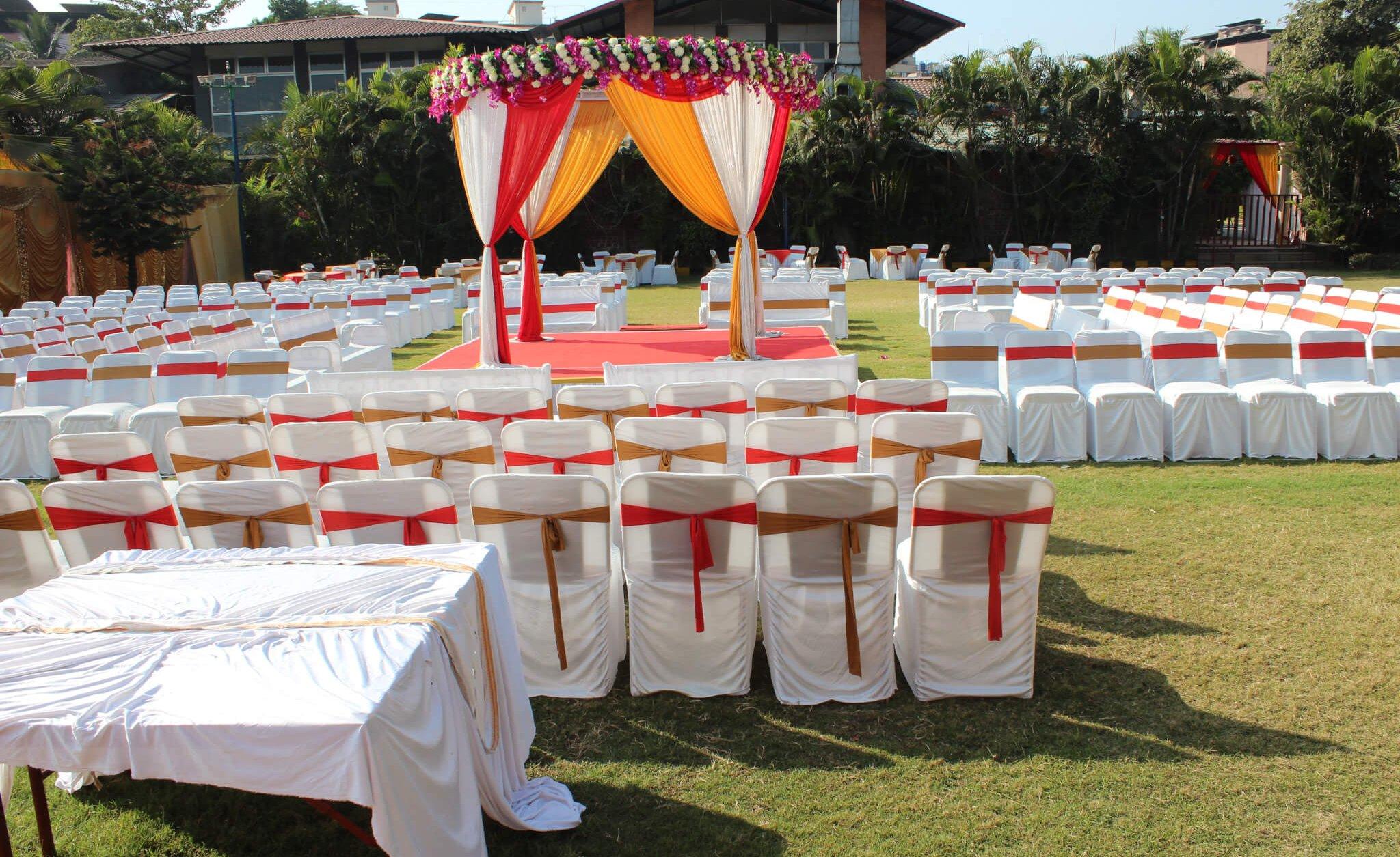 Vidhi Mandap at Orchid Lawn