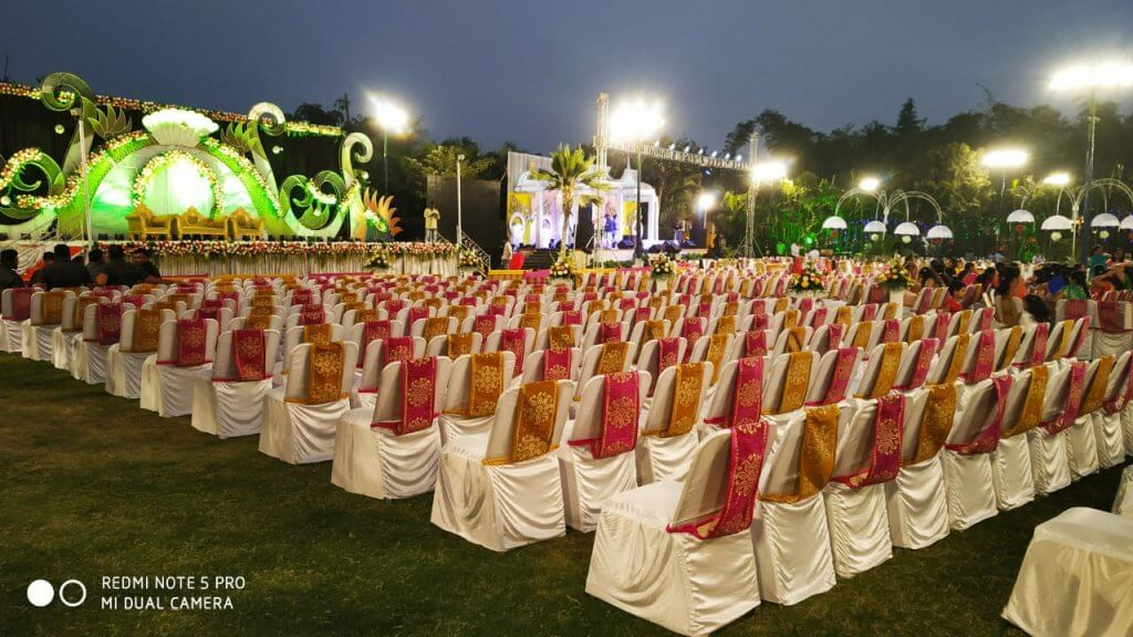 Orchid Lawn decorated for Engagement