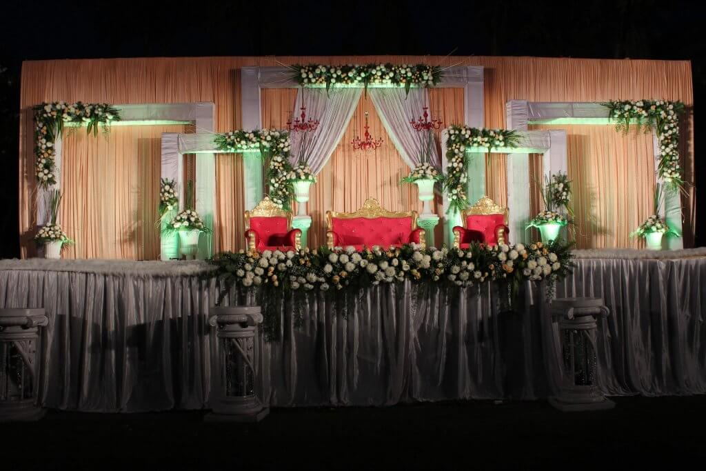 Stage Decoration at Palms Water Resort